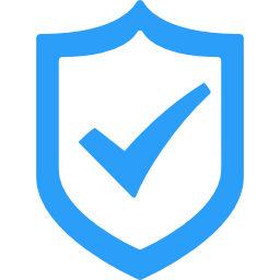 Shield icon with a check mark